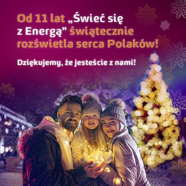 """11 lat akcji """"Świeć się z Energą"""""""