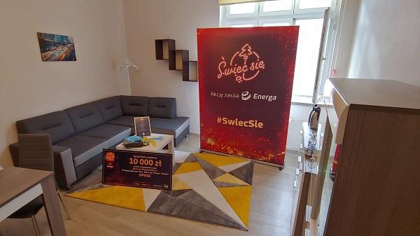 """11. edycja """"Świeć się z Energą"""" - mieszkanie dla rodziny zastępczej w Opolu wyposażone w sprzęt otrzymany od Grupy Energa"""