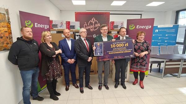 """11. edycja """"Świeć się z Energą"""" - przekazanie nagród w Aleksandrowie Łódzkim"""