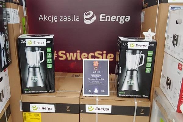 """11. edycja """"Świeć się z Energą"""" - sprzęt AGD przekazany dla Aleksandrowa Łódzkiego"""